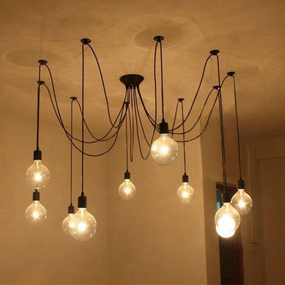 Eccezionale Lightess – Lampada a sospensione in stile vintage industriale  OI56