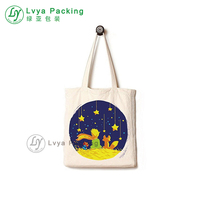 The Little Prince design Customized handmade cotton cloth bag