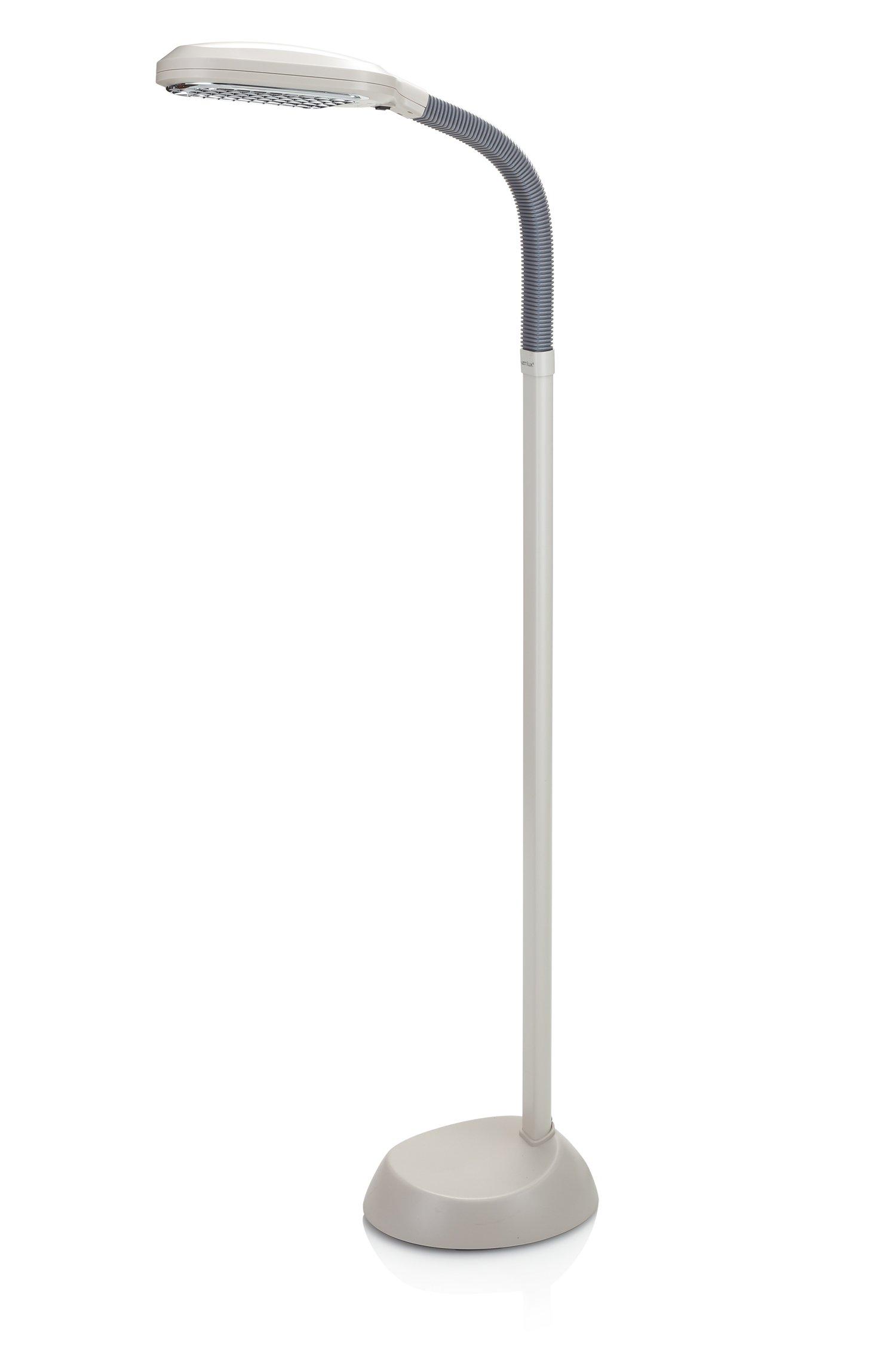 Cheap full spectrum floor lamp find full spectrum floor lamp deals get quotations verilux original natural spectrum floor lamp with adjustable easyflex gooseneck ivory aloadofball Gallery