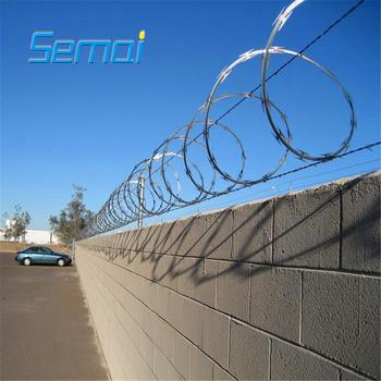 China Razor Blade Barbed Wire Toilet Seat Razor Wire