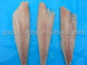 frozen hake fish fillet untreated 100%NW