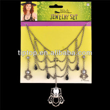 Halloween jewelry witch1 neclace 1pair of earrings sets