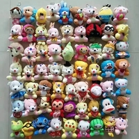 cheap plush key chain toy for promotion gift stuffed animals pendant
