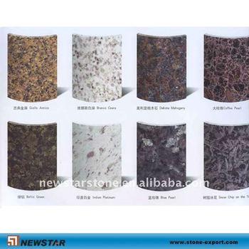 Natural Round Marble Pillar Granite