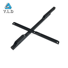 OEM Aluminum Black Powder Coating Trailer Torsion Axles Leaf Spring For Car Used Auto Spart Parts