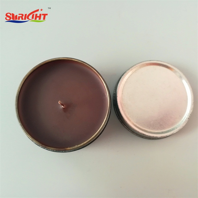 Brown Coffee Scented Promotional Tin Candle in Jakarta