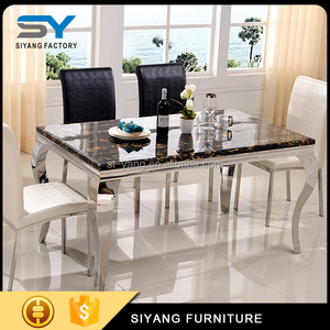 Malaysia Natural Stone Dining Table Made In China Ct003