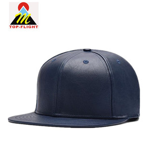b2ae05b0637 Alibaba China Online Shopping Custom Wholesale Blank 6 Panel Leather Snapback  Cap Hat