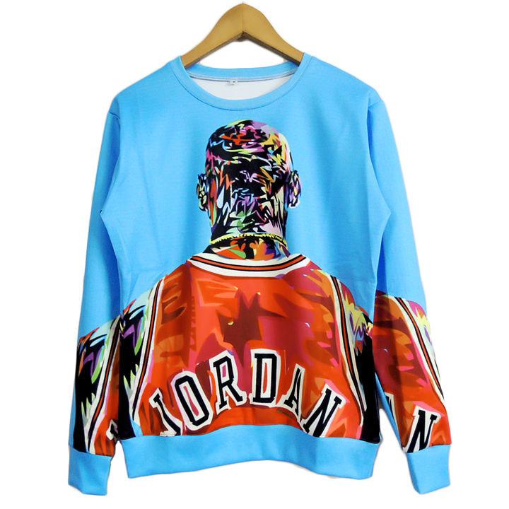 778cc0ddf5d Get Quotations · 2015 New hot Jordan print 3d sweatshirts men/women  Harajuku hoodies Fashion pullover moleton masculino