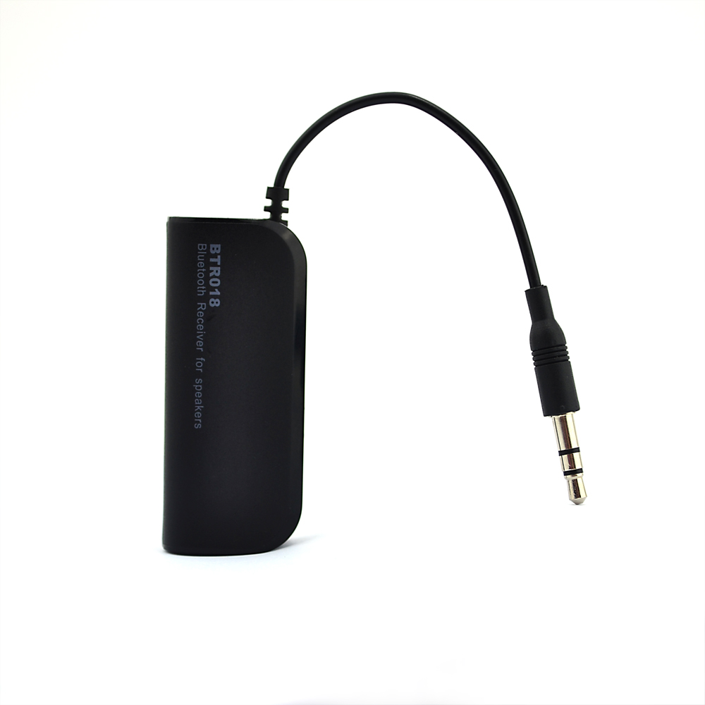 High Quality Bluetooth v4.0 Wireless Audio Receiver, Battery Powered Bluetooth Music Receiver Audio with Stereo Output