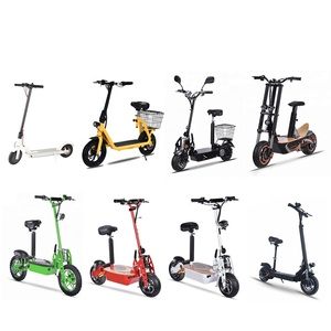 china cheap classic popular big wheel electric scooter 1000w adult folding 2 wheel electric scooter
