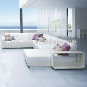 Nordic style discount patio furniture white elegant sofa design