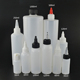 travel squeeze 100ml hdpe dropper bottle with white and black plastic cap