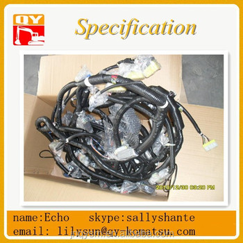 Pc200-6 Pc210-6 Pc230-6 Excavator External Wire Harness 20y-06-21115 on speaker components, electronic circuit components, wire alligator clips electrical, torque converter components,