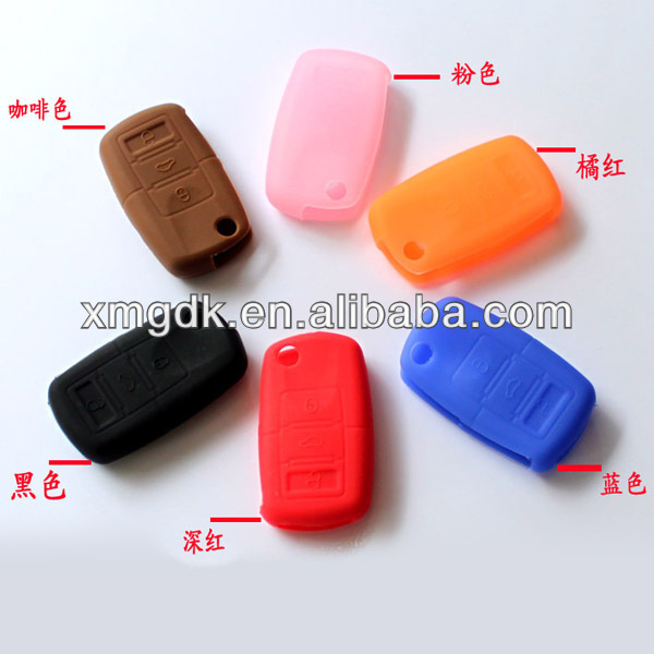 silicone suction nissan car key cover