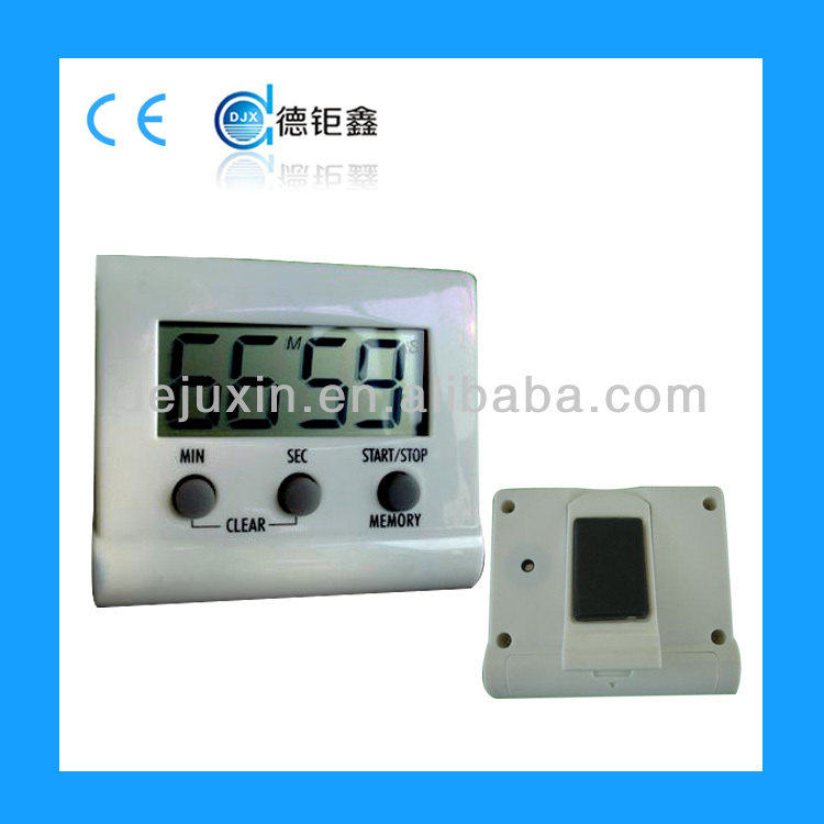 Big Lcd screen electric timer