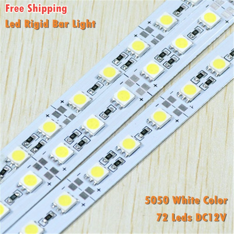 12V High Brightness 5050 SMD White Led Bar Strips Lights With Price In India