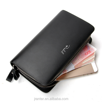 High quality leather wallet for men,clutch wallet men,purse making supplies