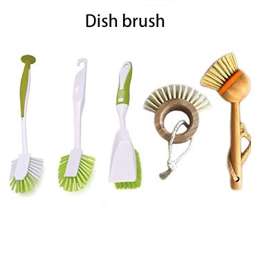 ทำความสะอาดพลาสติก Mini Dustpan กับแปรงไม้ไผ่สำหรับตาราง