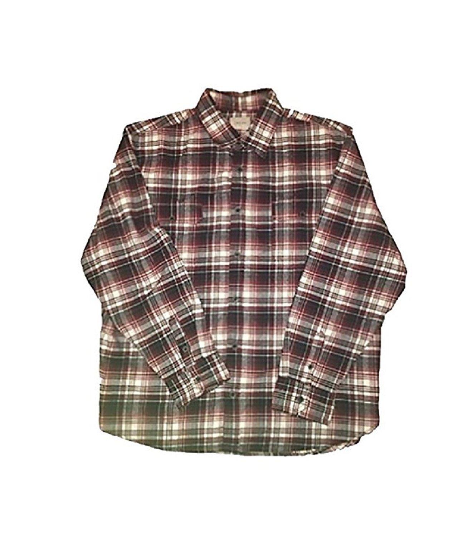 cdda74cc06ba Get Quotations · Jachs Mens 9oz Cotton Flannel Brawny Flannel Shirt Button  Down