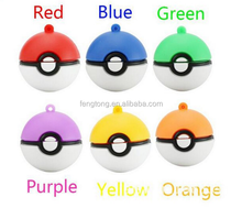 Newest Pokemon Go usb flash drives PVC poke balls usb 1gb 2gb wrist usb sticks