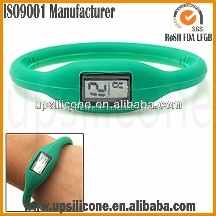 promation iron silicone sports watch