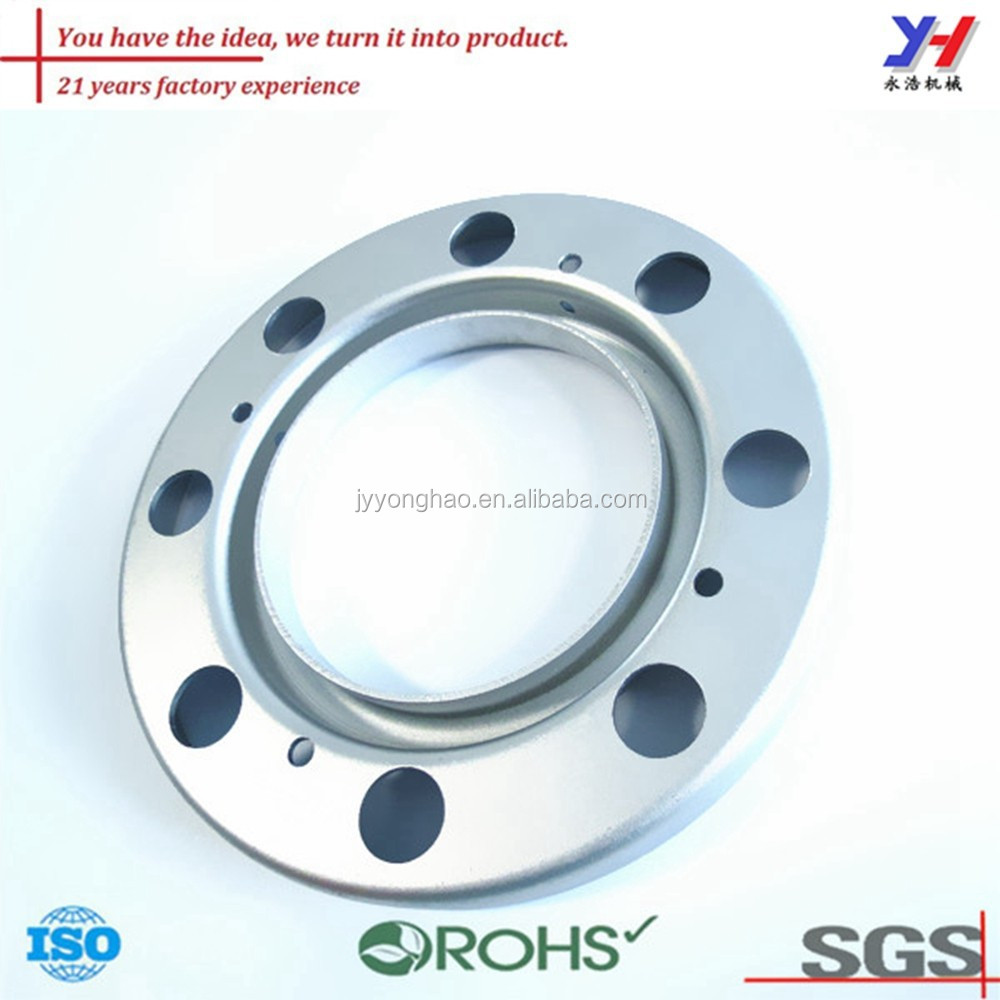OEM ODM customized 8 figure Zinc plated flange connection