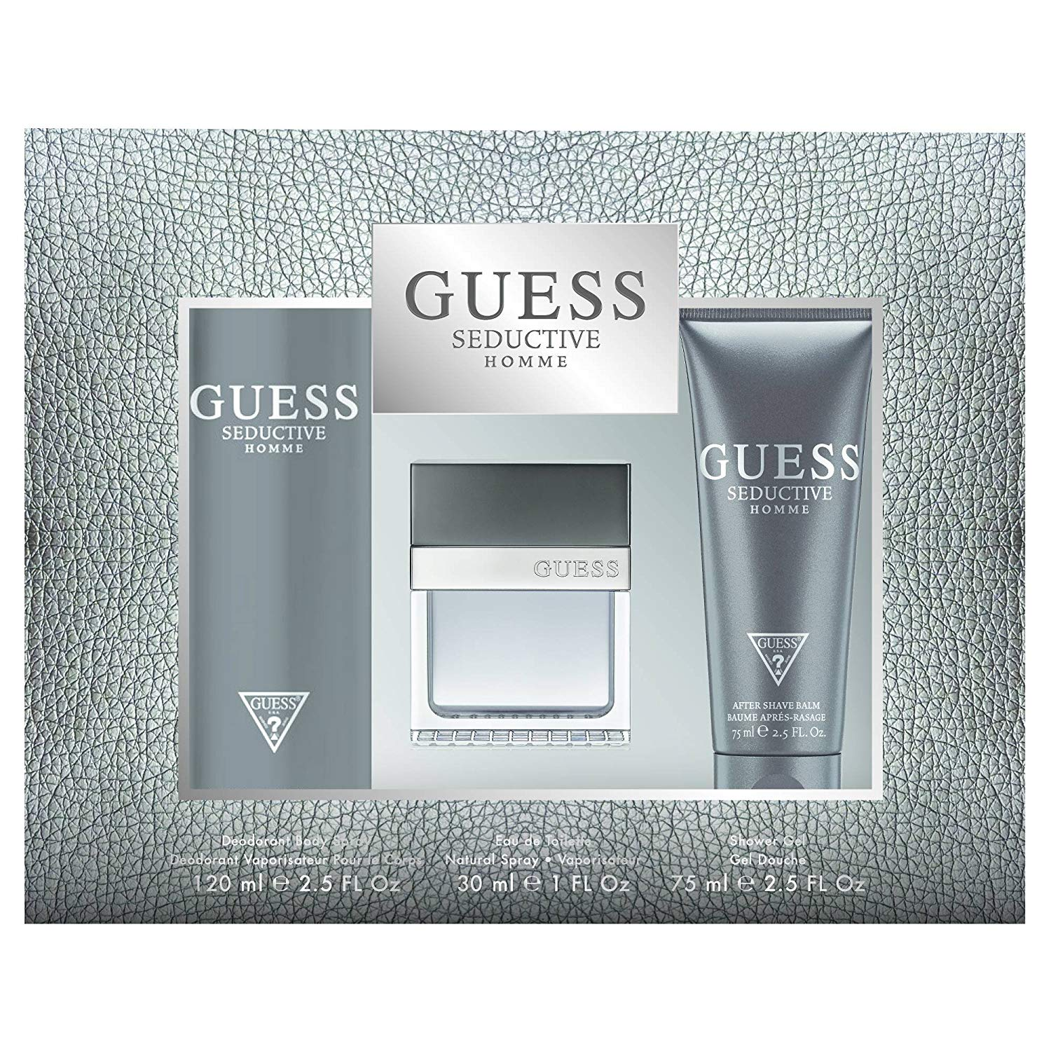 Guess Seductive Homme by Guess Men's Fragrance Gift Set, pack of 1