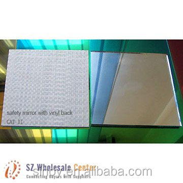 Reliable quality 4mm vinyl back safety mirroe