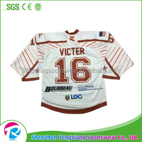 2017 Pro Customized Red Wings Hockey Goalie Kit Jersey