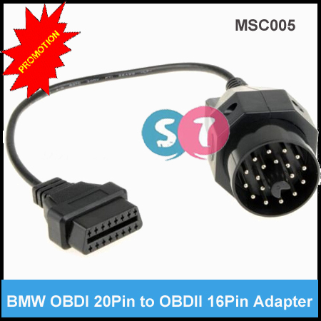 20 Pin OBDI to 16Pin OBDII Connector cable
