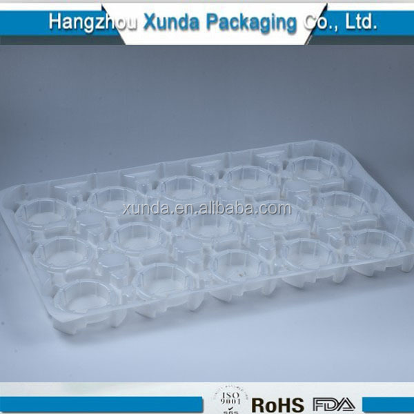 PET clear plastic blister cake tray