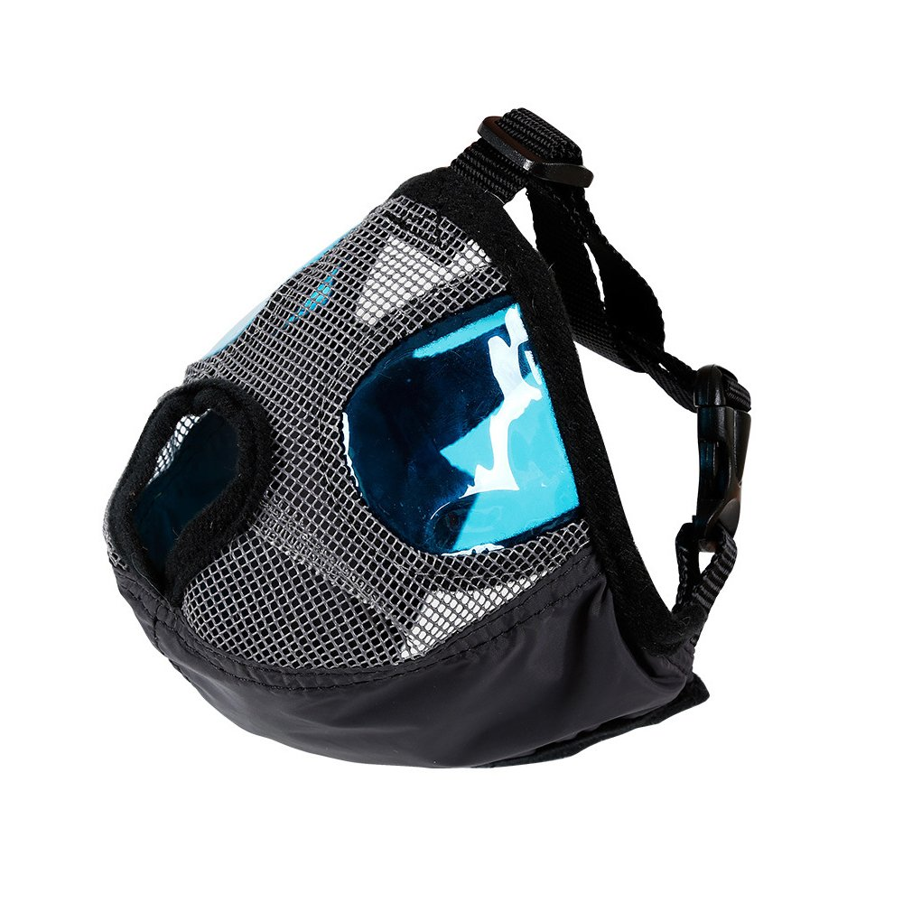 Anti Bark Bite Dog Muzzle with Adjustable Buckle- Dog Mouth Mask for Short Nose - Flat Faced Dogs