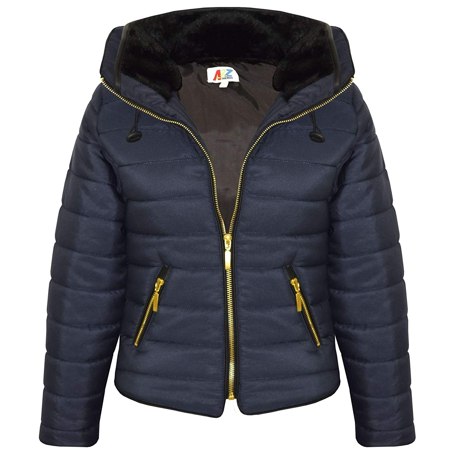 89b569c11abd Cheap Navy Quilted Jacket Girls