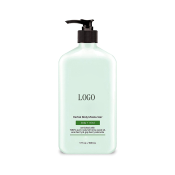 2018 Private Label Cosmetics 100% Natural scented body lotion