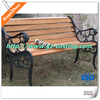China supplier low price outdoor metal leg garden antique chinese bench from Guanzhou casting foundry