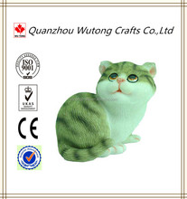 Resin furnishing articles wholesale cat figurines desk