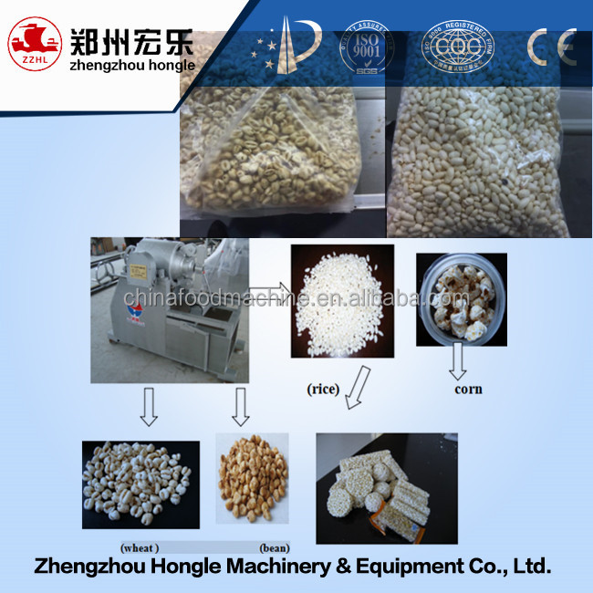 Peanut Boiled Sugar Snack Production Line/puffed Rice Snack Machine/boiled Sugar Grain Cake Bar Production Line