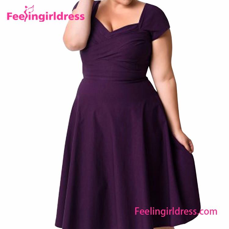 Fat Lady Cocktail Dresses