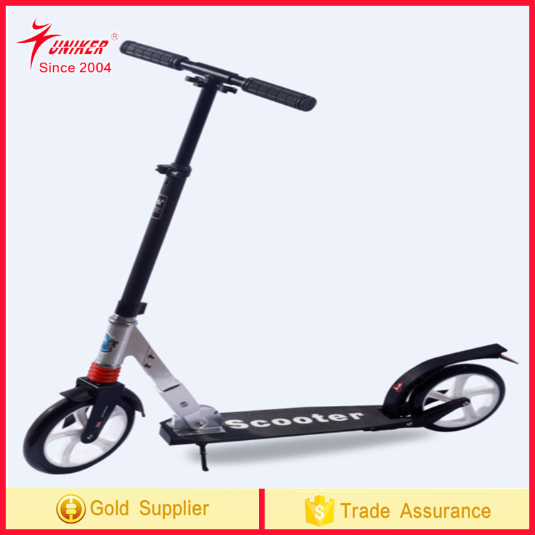 Two Wheel Kick Scooter,Adjustable and Foldable Foot Scooter