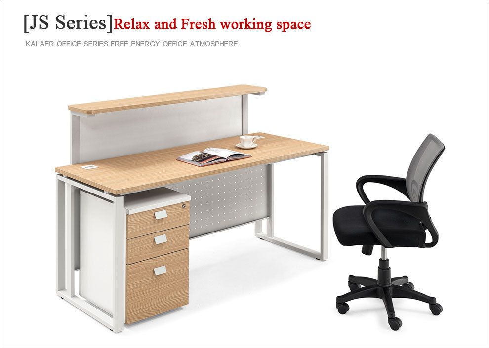 Modern Melamine Office Reception Table Design And Front Office Desk