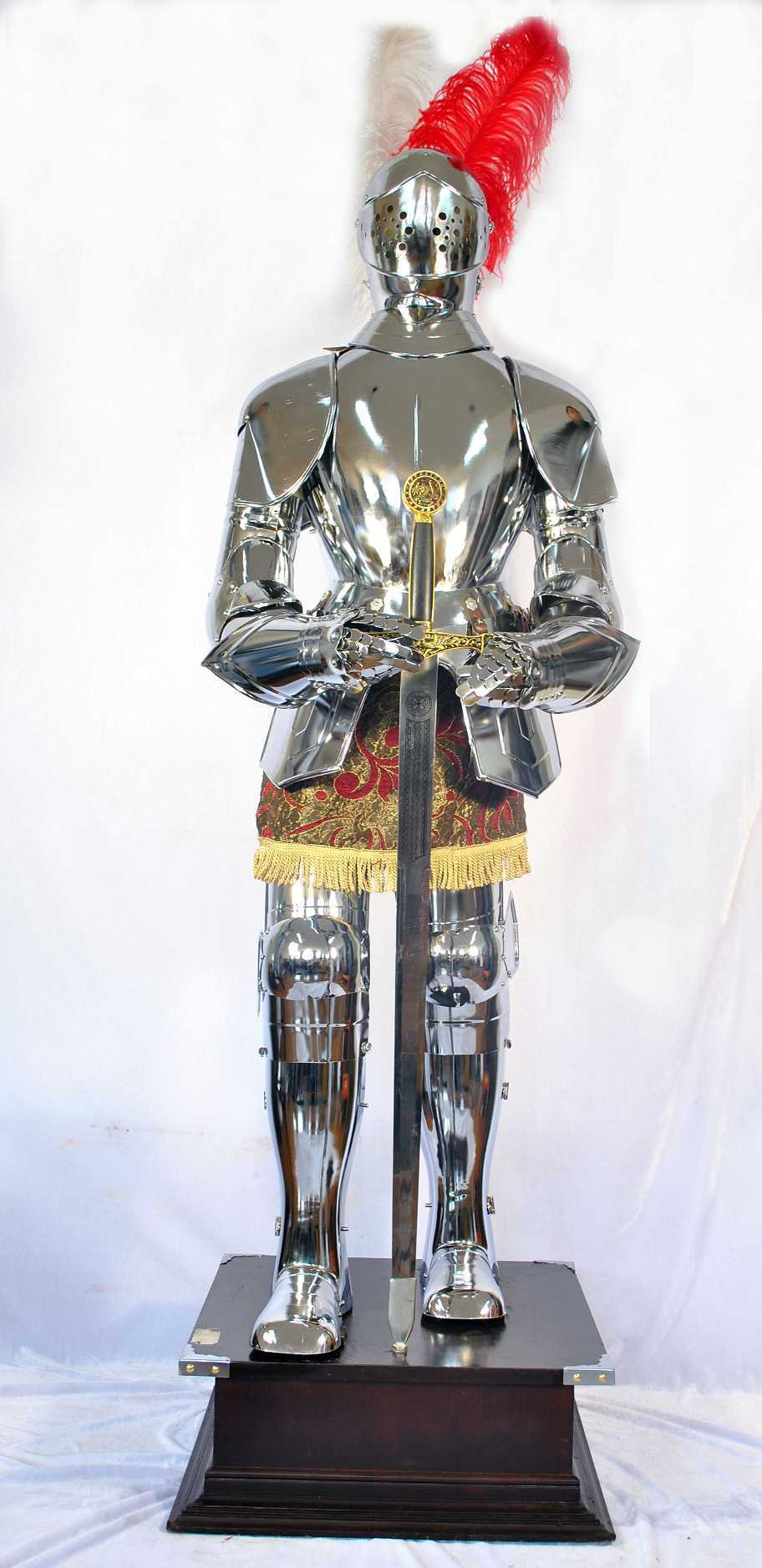 Knight Of Wands As Advice: Antique Medieval Knight Armor And Helmets