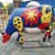 Custom made outdoor garden decoration fiberglass animal cow sculpture