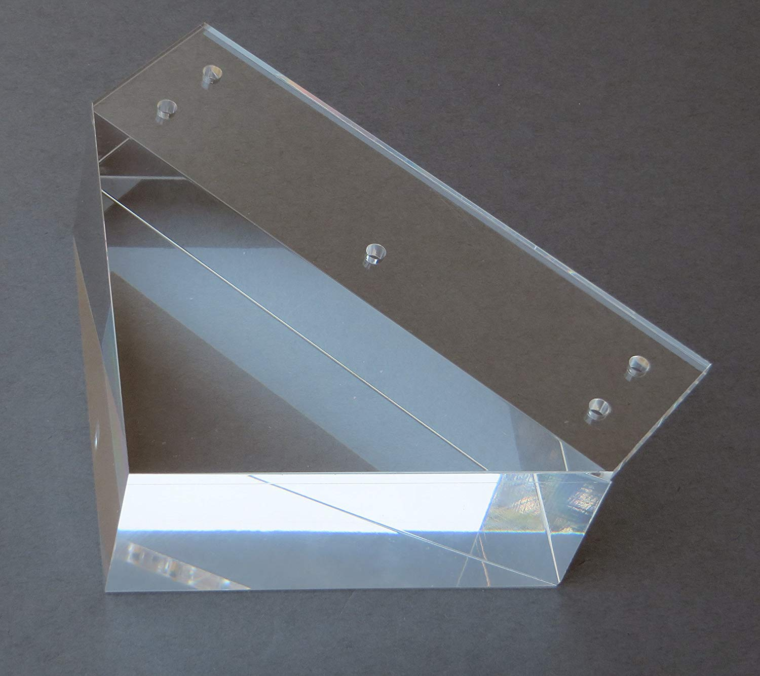 """Alpha Furnishings Clear Acrylic Furniture Legs Lucite Legs 2"""" H for Sofa, Cabinet and Furniture, 4PC"""