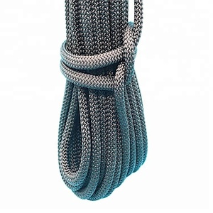 polyester cord/polyester double braided rope for outdoor survival kit