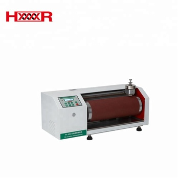 DIN abrasion test machine sole friction tester HY-8052 DIN shoes rubber abrasion resistance tester