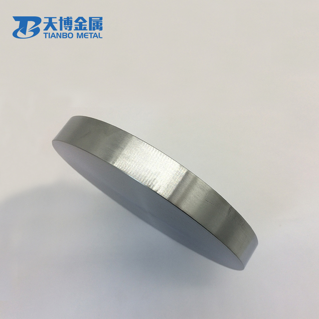 99.995/% Titanium Ti Sputtering Target Plate Diameter 2/'/' Thick 10mm #EZ5 GY