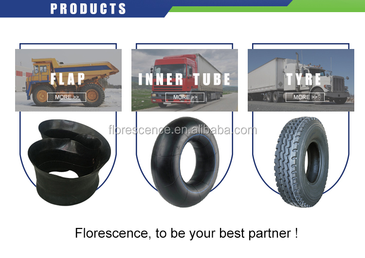 1000x20 Truck Tyres Bias Tube And Flap