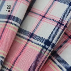 100% Cotton Yarn Dyed Plaid Fabric for Garment Shirt Dress