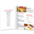 Custom A2 A3 A4 A5 commerciale poster/volantino/flyer/menu di stampa del commercio all'ingrosso